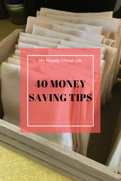 Money Saving Tips Graphic